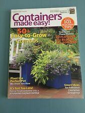 Garden Gate Magazine:Containers Made Easy And Backyard Retreat 2012 Magazine