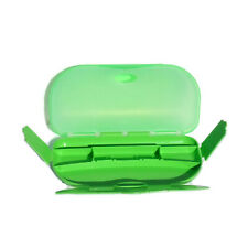 Tupperware Pencil Case Green Multi Compartment Style Great Used Condition