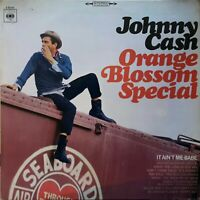 JOHNNY CASH - ORANGE BLOSSOM SPECIAL 1970 CBS VINYL LP 62501 ( GERMANY)