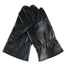 Men Women Winter Gloves Touch Screen Windproof Waterproof Leather Thick Snow US