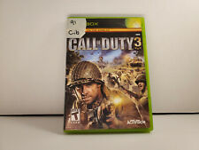 Call of Duty 3 (Microsoft Xbox, 2006) Good CIB