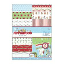 A4 PAPER PACK - Pippinwood Christmas Collection - Docrafts