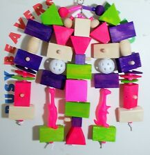 New listing (New)Bird Toy Med Size(Lil Chewdy-Licous)Amazons,Gre ys,Small Toos ect.