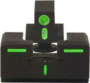Mepro R4E Optimized Duty Night Sight Fixed Set Glock 26/27 Green/Green ML12224