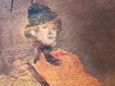 Raoul ARUS 1848-1921 Etude Femmes Chaise à Bascule Huile sur Panneau