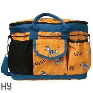 Hy Equestrian Born To Be Wild Grooming Bag – Handy for Competition Days