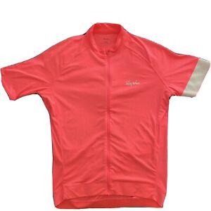 Rapha Core Cycling Jersey Large Hi-viz Pink