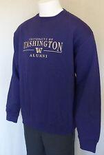 NWT Pullover Sweatshirt, Mens L, Washington Huskies, Alumni