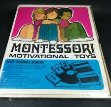 New Vintage Montessori Motivational Toy Homeschool ~ Factory Sealed ~Very Rare