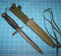 Bayonet BOC M7 Knife M8A1Scabbard Military Police Army USMC Vietnam War Era USGI