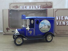 Lledo View Van Model T Ford Van, Aldermaston Manor '91 Toy Fair, Blue, Cert No 9
