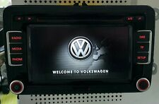 VW RCD 510 DAB+ Touchscreen Radio Stereo 6 CD Changer SD MDI Aux DAB + CODE Golf