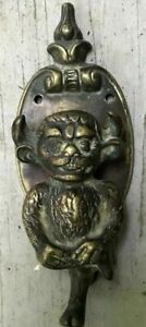 Cast Iron Gargoyle Door Knocker 1 Antiqued Bronze Look Finish H-93
