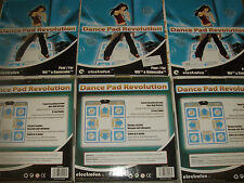 DANCE Pad Revolution Nintendo Wii GameCube HOTTEST PARTY Tappetini Nuovi
