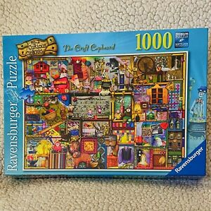 Original Ravensburger Quality Puzzle No. 2 Curious Cupboards 100 pcs Soft click
