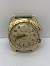Vintage POLJOT Alarm Wrist Watch 18 Jewels - For Repair