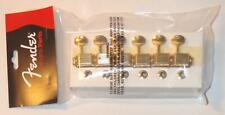 Fender® Vintage Style Gold Strat/Tele Tuners~10mm Conversion Bushings~Brand New