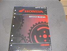 Genuine Honda CRF250 R OEM Factory Service Manual 61KRN53 CRF250R 2010-2013
