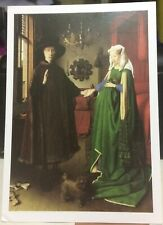 Postcard Art The Arnolfini Marriage Jan Van Eyck - unposted