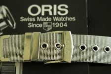 NOS 18MM FINEST MILANESE MESH S/S WATCH BAND WATCHBAND BRACELET STRAP FOR ORIS