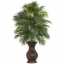 NEW Nearly Natural 6661 Areca Palm with Urn Decorative Silk Plant Green