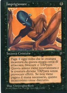 Magic Mtg Italian Legends Imprison   **Mint condition**