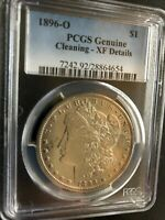 1896-O Morgan Silver Dollar PCGS XF Details