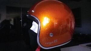 Torx 3/4 Open Face Retro Vintage Casco Motorcycle Scooter Helmet SIZE XS