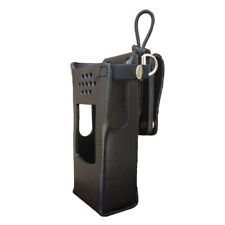 GE7325-3AXD Hard Leather Holster for Harris XL-200 Radios