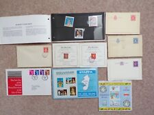 COLLECTION OF STAFFA JERSEY ISLE OF MAN LETTER CARDS FDC ETC - LOT 9