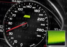 x8 BMW M Sport Logo Glow in the Dark Interior Speedo Decals Luminescent Vinyl