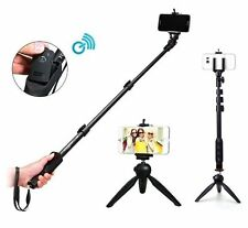 YUNTENG Selfie Stick Monopod + Mini Tripod Bluetooth Remote For Android TV09