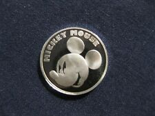 Mickey Mouse iconic silver 1/20 ounce pure silver coin/medal  Disney