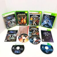 Star Wars Unleashed 1 2 Knights Of The Old Republic Battlefront Xbox 2 360 Lot