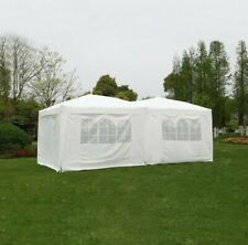6×3m Waterproof Pop Up Garden Gazebo With Windows