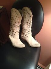 BT JUELL COWBOY BOOTS! WITH STONES AND CLIPS. SZ 6M