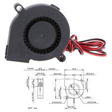 Ventilador Turbina 5015 12v Fan 50 x 50 x15 para impresora 3D cooler 50mm 15mm