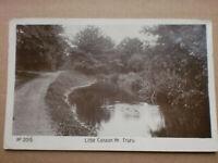 Little Canaan Truro 1910 ARGALL'S Real Photograph RP Postcard Cornwall Rare