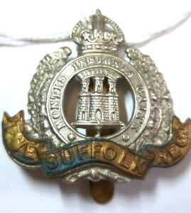 Badge The Suffolk Regiment WW1