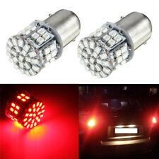 2x 1157 BAY15D 1206SMD 50 LED Frein Feu Lampe Stop Clignotant Bulb Ampoule Rouge