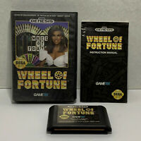 Wheel of Fortune (Sega Genesis, 1992) COMPLETE! TESTED & CLEANED!