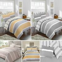DUVET COVER BEDDING SET WITH PILLOWCASES QUILT COVER SINGLE DOUBLE KING ALL SIZE