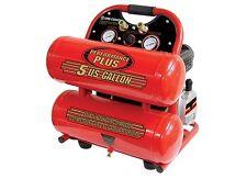 King Canada Tools 8488C 5 GALLON TWIN TANK AIR COMPRESSOR 3400 RPM 13 AMP MOTOR