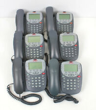 Lot Of 6 Avaya 2410 Digital Display Business Telephone 700306483 700381999