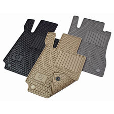 Mercedes Benz 2012 up C250, C350 Coupe All Weather Rubber Floor Mat Sets, Grey