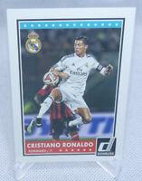 2015 Panini Donruss Soccer Cristiano Ronaldo 1st Donruss Card #1 Great Centering