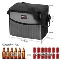 9.5L Extra Large Cooling Cooler Bag Box Picnic Camping Food Ice Drink   F@