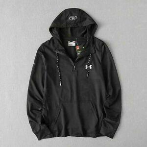 Men Under Armour UA Hoodie Pullover Sweatshirt Jumper Hooded Hoody Jacket