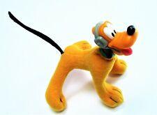 Vintage Disney House Mouse Stuffed Plastic Head Pluto Toy