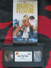BURN THE FLOOR VHS VIDEO. Dancing.
